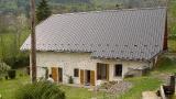 La maison reconstruite après sinistre feu