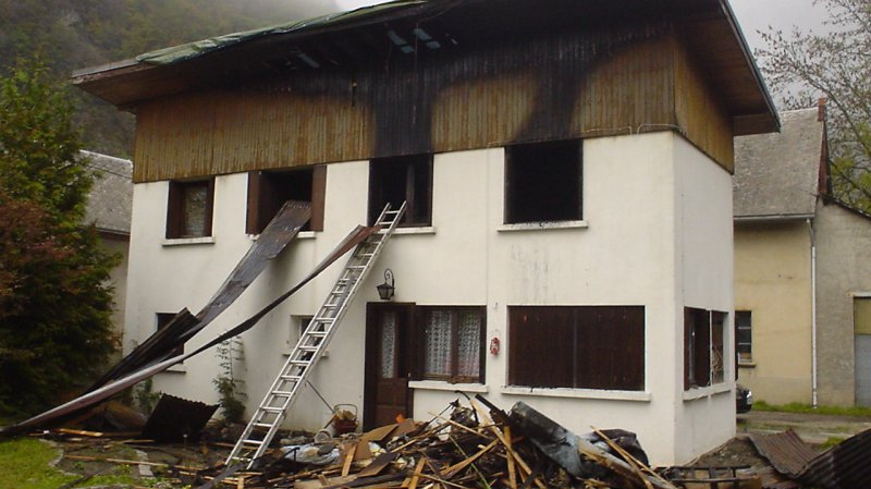 R novation int rieure d 39 une habitation suite incendie for Renovation de maison avant apres